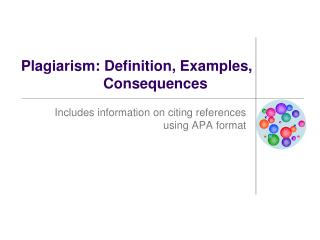 Plagiarism: Definition, Examples, Consequences