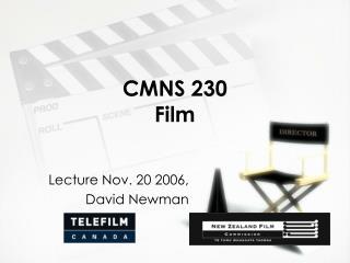CMNS 230 Film