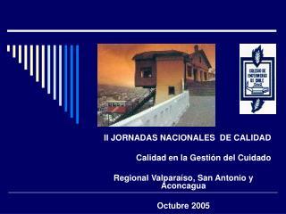 II JORNADAS NACIONALES  DE CALIDAD  Calidad en la Gestión del Cuidado
