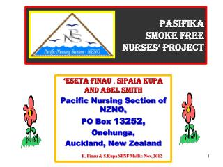 Pasifika Smoke Free  Nurses' Project