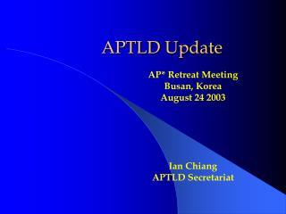 APTLD Update