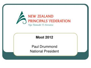 Moot 2012 Paul  Drummond National President