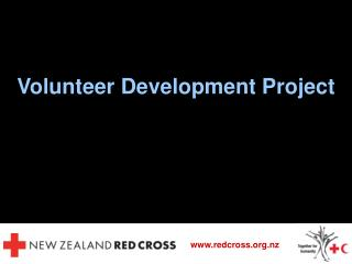 Volunteer Development Project