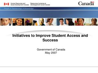 Initiatives to Improve Student Access and Success