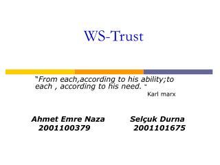 WS-Trust