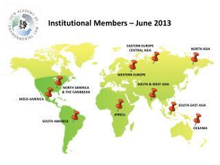Institutional Members � June 2013