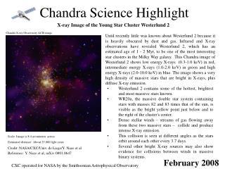 Chandra Science Highlight
