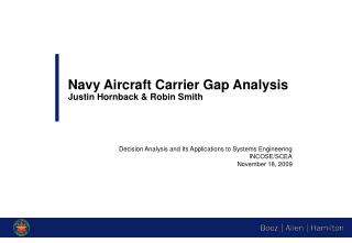 Navy Aircraft Carrier Gap Analysis