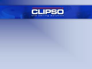 1. Wat is CLIPSO 2. De werking 3. Voordelen van CLIPSO 4. Toepassingen