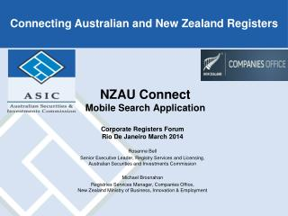 NZAU Connect  Mobile Search Application