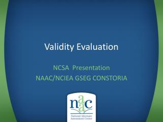 Validity Evaluation