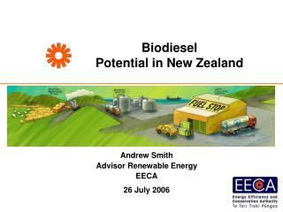 Biodiesel  Potential in New Zealand