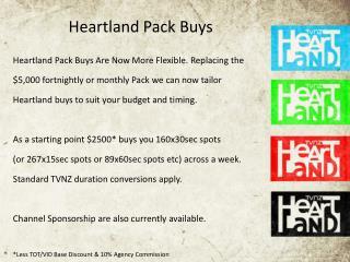 Heartland Pack Buys