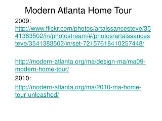 Modern Atlanta Home Tour