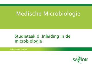 Medische Microbiologie