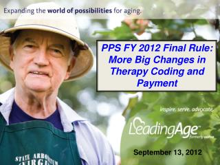 PPS FY 2012 Final Rule: More Big Changes in Therapy Coding and Payment