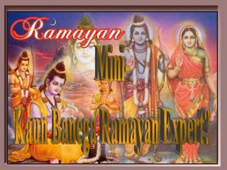 Mini- Kaun Banega Ramayan Expert?