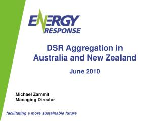 DSR Aggregation in  Australia and New Zealand June 2010