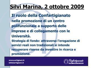 Silvi Marina, 2 ottobre 2009