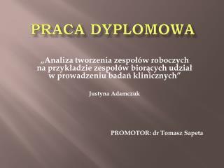 PRACA DYPLOMOWA