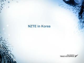 NZTE in Korea