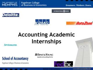 Accounting Academic Internships