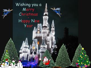 Wishing you a Merry Christmas   Happy New Year