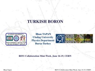 TURKISH BORON