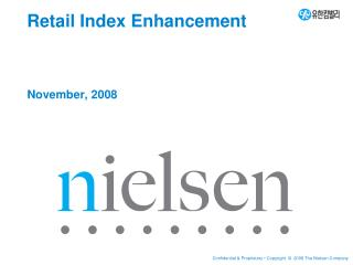 Retail Index Enhancement