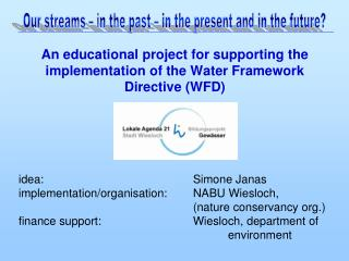 An educational project for supporting the implementation of the Water Framework Directive (WFD)