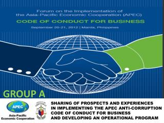SHARING OF PROSPECTS AND EXPERIENCES