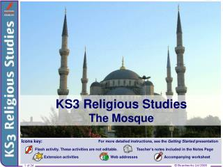 KS3 Religious Studies The Mosque