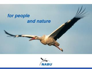 for people 		 and nature