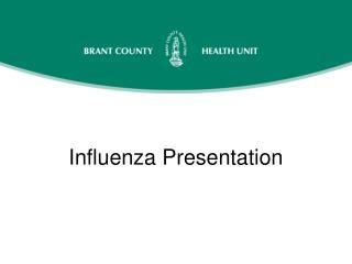 Influenza Presentation