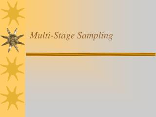 Multi-Stage Sampling