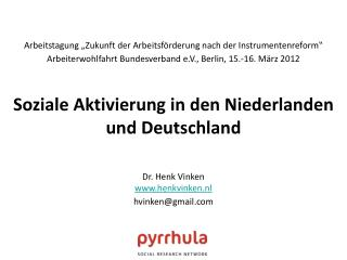 Dr. Henk Vinken henkvinken.nl hvinken@gmail