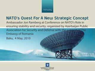 NATO's Quest For A New Strategic Concept