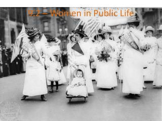 9.2 – Women in Public Life