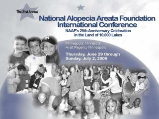 The National Alopecia  Areata Foundation