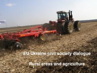EU Ukraine civil society dialogue Rural areas and agriculture