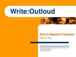 Write:Outloud