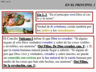 EN EL PRINCIPIO, 1