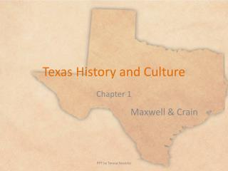 Texas History and Culture
