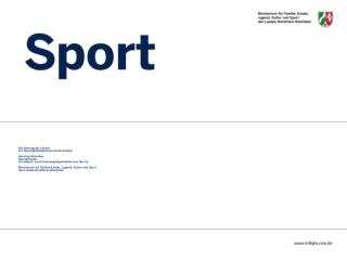 Der Beitrag der Länder  zur Dopingbekämpfung in Deutschland Henning Schreiber Referatsleiter