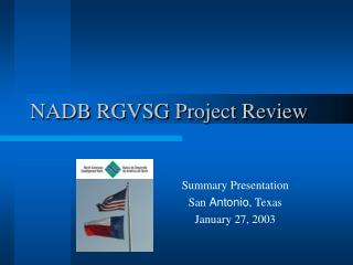 NADB RGVSG Project Review