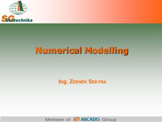 Numerical  M odelling