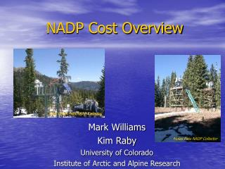 NADP Cost Overview