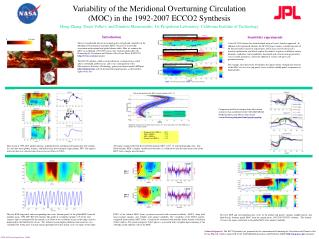 Variability of the Meridional Overturning Circulation  (MOC) in the 1992-2007 ECCO2 Synthesis