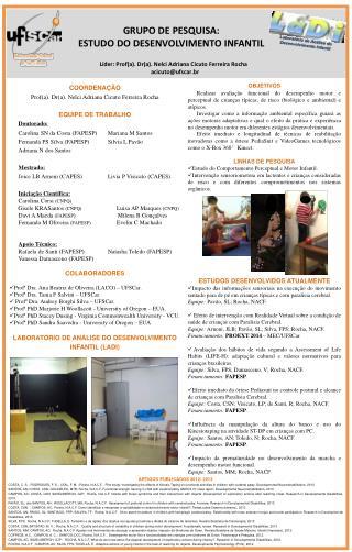 Líder: Prof(a). Dr(a). Nelci Adriana Cicuto Ferreira Rocha   acicuto@ufscar.br
