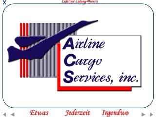 Luftlinie Ladung-Dienste